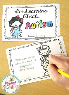 A cute and fun autism health study for little learners. Perfect to use for Autism Awareness Month.
