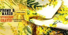 Promo Festa della donna: spedizione GRATIS su tutti gli ordini effettuati l'8 Marzo sul nostro Sito https://www.tessutietendaggipanini.it/ Iscriviti e inserisci il Codice Sconto: 8MA016N1 nel tuo carrello!