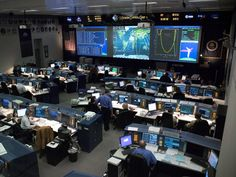 NASA Mission Control Center