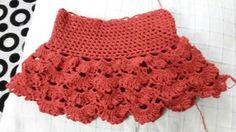 Crochet skirt...  For my  daughter