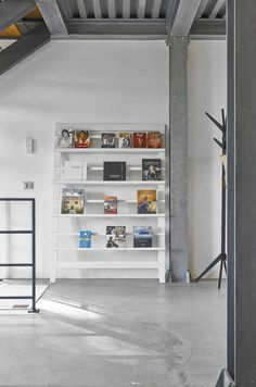 Inspiring industrial residence located in Montalcino, Italy, designed by Special Umbria. Frame Display, Contemporary, Modern, Tuscany, Entryway, Villa, Shelves, Interior Design, Pictures