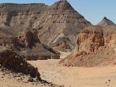 Ägypten Gilf Kebir   Westseite des Süd Gilfs >