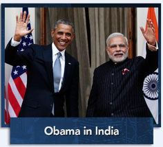 Pres. Obama is in India on an official visit #NewsHourLive