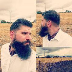 Bit of a #cravatselfie whilst walking off lunch. #beardlife #beardlove #beard #beardoil #beardy #beardeddad #dapper #dapperbeard #beardmaniac #beardandtats #beardporn #beardgang #beardfriends #bearded #beardedgent #beardedchef #tattooeddad #cravat