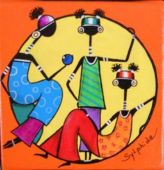 Etsy - Shop for handmade, vintage, custom, and unique gifts for everyone Pop Art, Afrique Art, African Origins, African Art Paintings, African Dolls, Contemporary African Art, Art Premier, Madhubani Art, African American Art