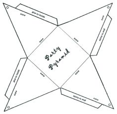 how to make a pyramid out of cardboard Paper Box Template, Origami Templates, Cardboard Box Crafts, Paper Crafts, Diy Craft Projects, Diy And Crafts, Bored Jar, Teepee Party, Classroom Charts