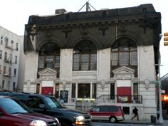 New York City's last public bath building, completed in 1910. Landmarked in 1982, the building at 227 4th Avenue at President Street in Park Slope, Brooklyn has in recent years been used as a private arts, events and community space known as the Lyceum.