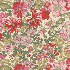 Regent Street Lawns  Covent Garden in Ivory Rose by LilyRoseQuilts