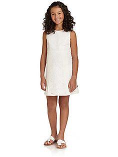 DKNY Girl's Lace Dress