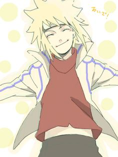 Minato and Naruto fan art | Minato wants a hug *_* - Minato Namikaze Fan Art (30556851) - Fanpop ...
