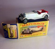 Lesney Matchbox Car 1928 Mercedes 36/220 Y10 by Eagleseyefinds, $15.67