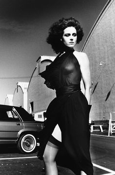 Sigourney Weaver by Helmut Newton. One of my Fav actresses and she is still going strong!