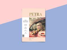 Revista PetraTipografía II, Cátedra Cosgaya 2015 by Dano Marello #grafica #cover #colori