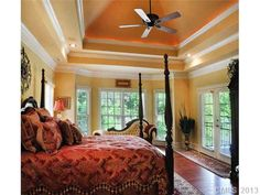 House Ideas. Forget the house, love the ceilings. I could sleep on those.