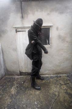 Jacket by Reo Ma Tee by Boris Bidjan Saberi Trousers by Yohji Yamamoto  Boots by Julius_7