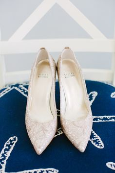 Stuart Weitzman Champagne, Pointed Wedding Shoes | Jet Set Wed https://www.theknot.com/marketplace/jet-set-wed-fort-myers-fl-582874 | KMD Creations https://www.theknot.com/marketplace/kmd-creations-photo-and-film-tampa-fl-549155 |