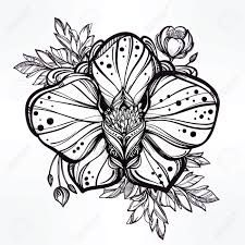 Resultado de imagen para white orchid tattoo