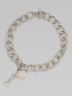 ysl  charm bracelet