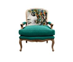 Check out this Chair Candy creation!  #magazinemonday  |  Room Fu - Knockout Interiors via Vogue Living Australia