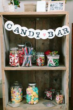 Candy Bar Girlande Hochzeitsgirlande candy bar garland renna deluxe rustic