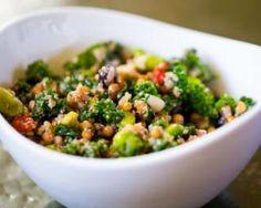 Recette de Quinoa sain au kale