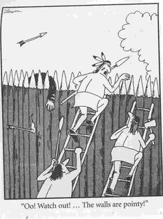 """""""Oo! Watch Out! The Walls Are Pointy!""""."""