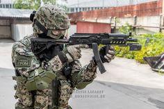 FSKN GROM spetsnaz (Federal Drug Control Service)-9mm 'Vitiaz' submachinegun- Google Search