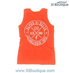Xi Boutique Red Orange Tank is 23.00 for the next 24 hours! (ends 5/1)