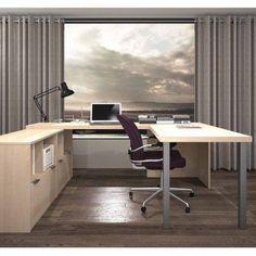 Bestar i3 by Bestar U-Shaped Desk, Multiple Colors