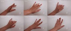 FEMALE Hand Pose - Set 1 by pyjama-cake