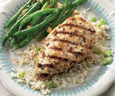 The creamy buttermilk, mustard and Shallot Tarragon Butter seasoning marinade makes this chicken tender and delicious.
