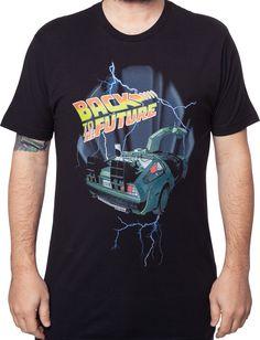 Lightning Back To The Future Shirt