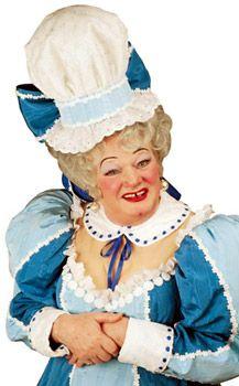 John Inman as a Pantomime Dame