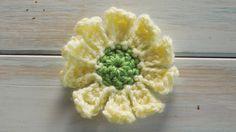 (crochet) How To Crochet a 10 Petal Flower - Yarn Scrap Friday