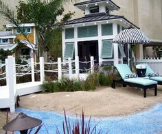 Playhouse Designs and Ideas: Big Dreams for Small Houses: Beachside Cabana