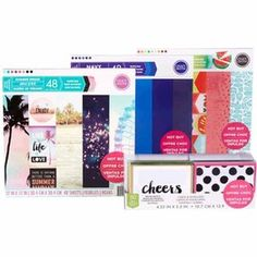 Hot Buy Scrapbook Paper Pads & Boxed Cards