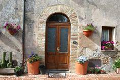 beautiful doorway in Northern Tuscany