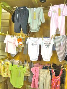 Shop Adorable: Easy Display Idea for Clothing