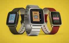 Pebble Time's iOS App still waiting for Apple approval Still Waiting, Be Still, Ios App, Digital Watch, Smart Watch, Apple, Shopping, Apple Fruit, Smartwatch
