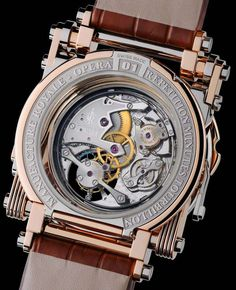 Manufacture Royale Opera Time Piece Watch watch releases