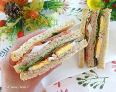 Toast Sandwich, Bakery Cafe, Finger Foods, I Foods, Street Food, Buffet, Sandwiches, Appetizers, Food And Drink