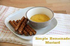 Homemade Mustard - Five Little Homesteaders