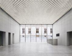 BKM - BÜNDNER KUNSTMUSEUM CHUR by Estudio Barozzi Veiga as Architects.        © Simon Menges