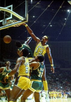 Wilt with the Lakers