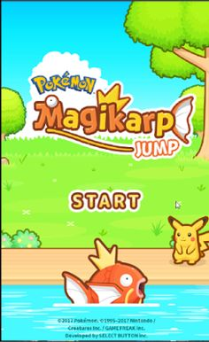 THE BEST GAMES FOR YOU: Pokémon Magikarp Jump (はねろ!コイキング) - New game of Po...