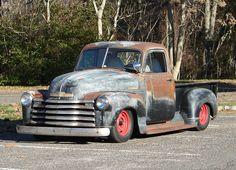 Sweet little Chevy Pickup Rat Rod
