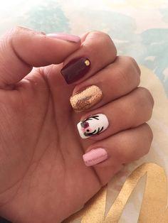 Mani Pedi, Manicure And Pedicure, How To Do Nails, Cute Nails, Nail Ideas, Nail Designs, Hair Beauty, Nail Art, Makeup