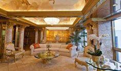 New York, l'attico tutto d'oro di Donald Trump