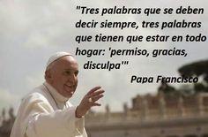 El Papa Francisco con excelentes frases para reflexionar.