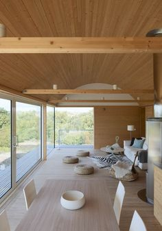 slavik summer house :: simple, warm living